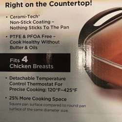 Brand New Copper Chef Electric Skillet for Sale in Atlanta,  GA