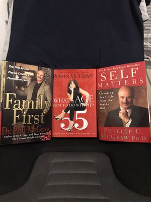 Dr. Phil & Robin McGraw -Books for Sale in Murfreesboro, TN