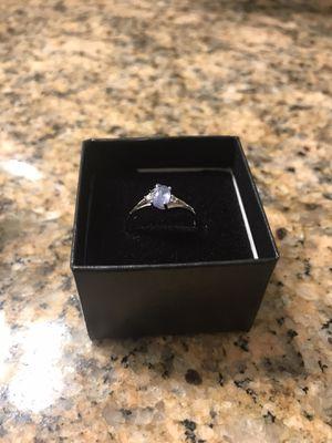 Designer Sebastian Tanzanite /Topaz And Sterling Silver Ring for Sale in Palm Harbor, FL