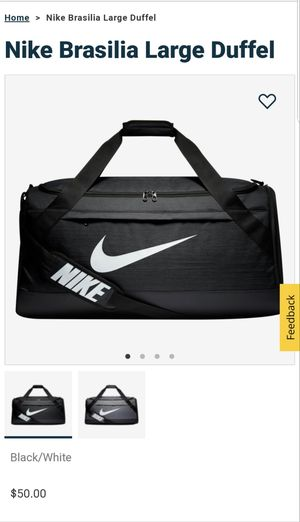 Brand New Large Nike Brasilia Duffle Bag for Sale in New Brunswick, NJ