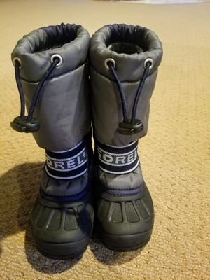 Sorel size 8 Toddler/little kid snow boots for Sale in Renton, WA