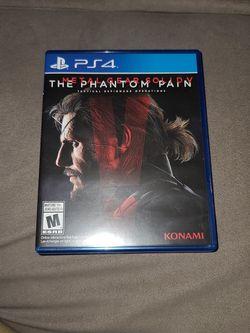 Metal Gear Solid Ps4 for Sale in Felton,  CA