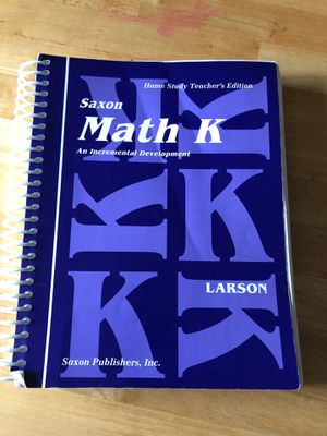Saxon Math K for Sale in Seattle, WA