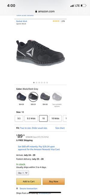 Reebok steal toe for Sale in La Mirada, CA