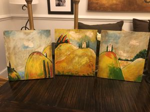 Southern living painted set of 3 for Sale in Texarkana, TX