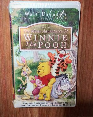 "New ""The Many Adventures of Winnie the Pooh"" (Walt Disney's Masterpiece) VHS for Sale in Douglasville, GA"