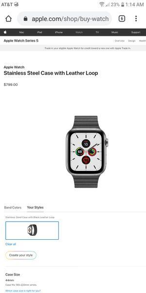 5 series Apple Watch for Sale in Marysville, WA