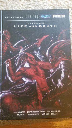 Aliens and Predator Book - The Complete Life and Death Hardbook for Sale in Pico Rivera, CA