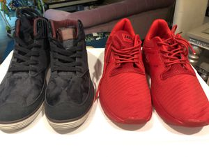 Selling together both size 12 men sneakers for Sale in Portland, OR