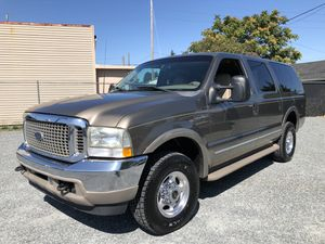2002 Ford Excursion limited 7.3 4x4 for Sale in Tacoma, WA