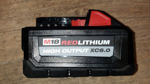 Milwaukee battery m18 6.0 for Sale in Inglewood, CA