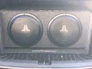 JL Audio 12's (subs) plus amp for Sale in Fort Walton Beach, FL
