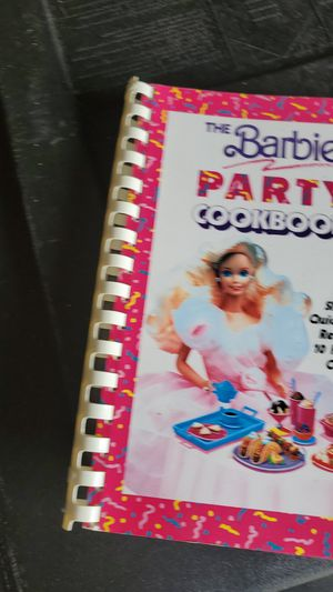 Barbie party cookbook for Sale in Lutz, FL