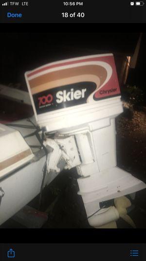 Skier 200 model runs great!!! for Sale in Flint, TX