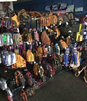 Used and new baseball softball gear glove bat for Sale in Phoenix, AZ