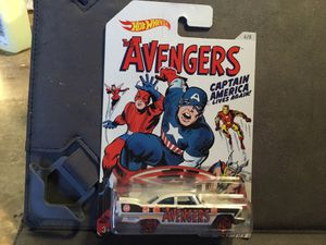 NOSTALGIA OLD SCHOOL CAPTAIN AMERICA PLYMOUTH HOTWHEEL for Sale in San Diego, CA