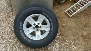 Master craft Courser-STR and aluminum wheel 255/70R16 new tire never used. I had it for a spare for my 2003 ford ranger for Sale in Elizabeth, WV