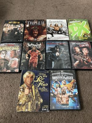 Wwe dvds for Sale in Winter Park, FL