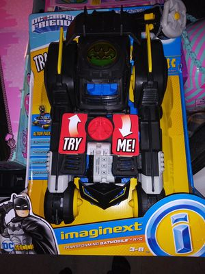 Imaginext transforming batmobile for Sale in Riverside, CA