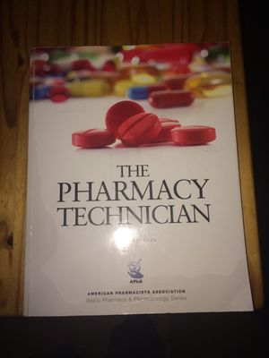 The pharmacy technician sixth edition for Sale in Penrose, CO