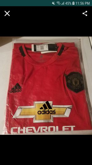2019/2020 ADIDAS MANCHESTER UNITED HOME JERSEY for Sale in Montebello, CA