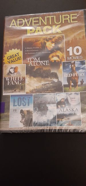 ADVENTURE 10 Movie Pack (DVD) NEW! for Sale in Lewisville, TX