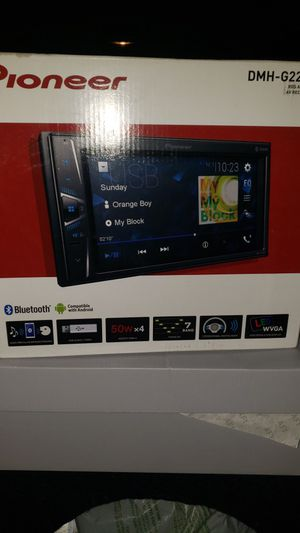 Touch screen car stereo for Sale in San Diego, CA