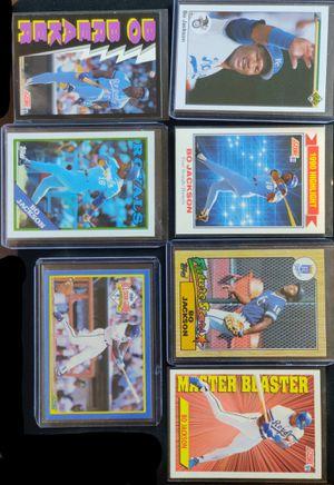Bo Jackson Baseball Card Collection .. for Sale in Hazard, CA