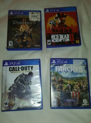 PS4 Games for Sale in Richland, MO