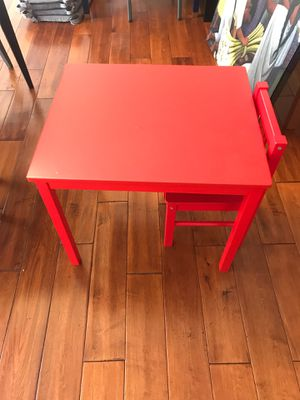 IKEA Kritter Kids Table & Chair for Sale in San Diego, CA