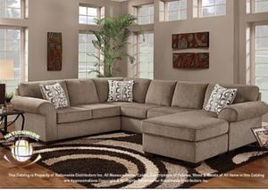 Large Cocoa Sectional Sofa Couch!! Brand New for Sale in Chicago, IL