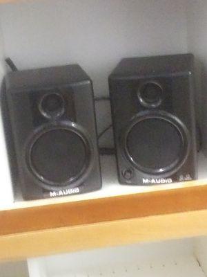 M-Audio Studiophile AV 40 speakers for Sale in Brooks, OR