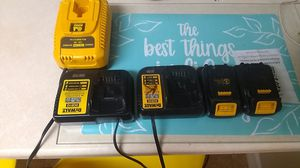 battery and chargers for Sale in Arnold, MD