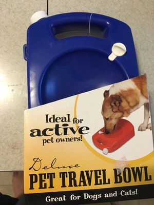 New pet travel bowl for Sale in Wallingford, CT