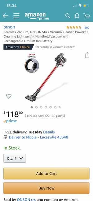 Brand new vacuum for Sale in Lexington, KY