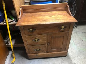 Antique rolling cabinet for Sale in Vancouver, WA