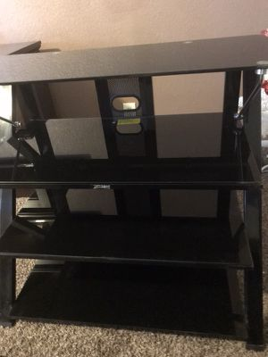 Glass Tv Stand. for Sale in Phoenix, AZ