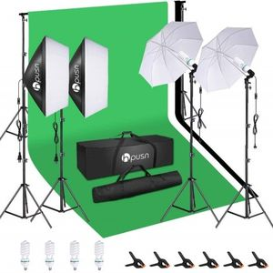 Backdrop Kit With Lighting Set By LS Photography for Sale in Graham, WA