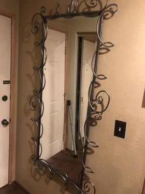 Awesome VERY HEAVY HUGE FLOOR/WALL MIRROR for Sale in Seattle, WA