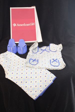 American Girl Molly Floral Pajamas NIB & RETIRED Doll Clothes Outfit Shirt Pants for Sale in Poinciana, FL