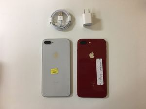 iPhone 8 plus 64gb factory unlocked, iphone AT&T, T-Mobile,Cricket Metro pcs, Verizon, Straight talk Simple mobile, unlocked, iphone for Sale in Dallas, TX