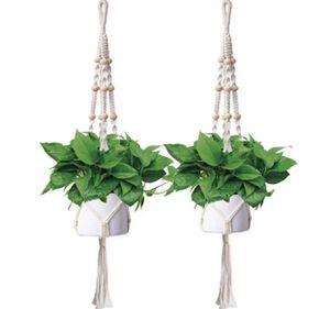 Macrame Plant Hangers SET OF 2 for Sale in West Jordan, UT