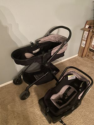 Evenflo car seat and stroller for Sale in Hesperia, CA