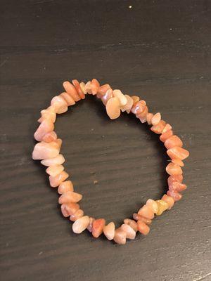 Orange agate stone bracelet for Sale in Tempe, AZ