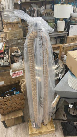 Rope floor lamp for Sale in Los Angeles, CA