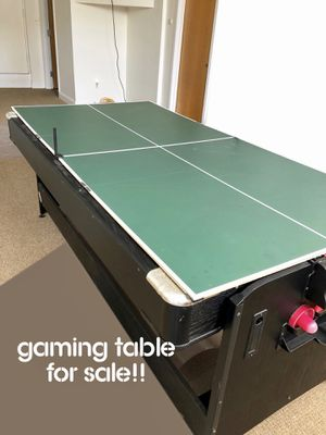 Gaming Table w/ Accessories for Sale in Baltimore, MD