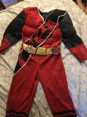 Power ranger costume for Sale in Dallas, TX