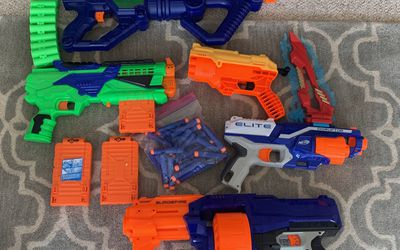 Nerf Gun Lot - 5 Guns for Sale in Bothell,  WA