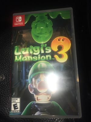 Luigis mansion 3 Nintendo switch for Sale in Chula Vista, CA