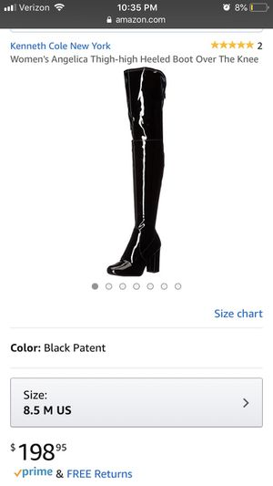 Kenneth Cole New York Angelica Thigh High Heeled Women's Boots for Sale in Philadelphia, PA